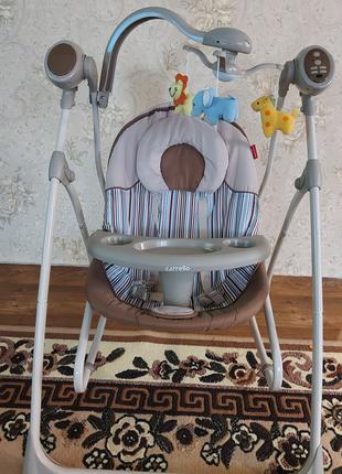 Кресло-качалка CARRELLO Nanny