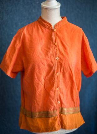 Аутентичная легкая индийская рубашка