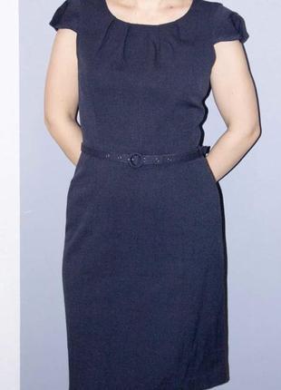 Офисное платье sela 44 размер
