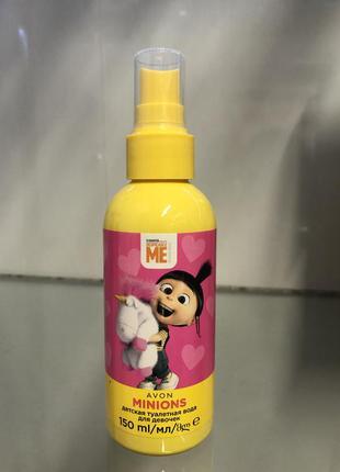 Детская туалетная вода для девочек minions 100 ml