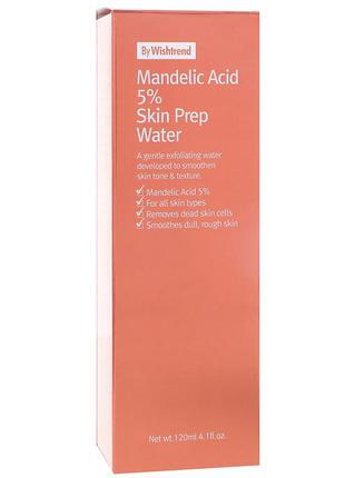 Wishtrend, косметическая вода с 5 миндальной кислоты, тоник с aha