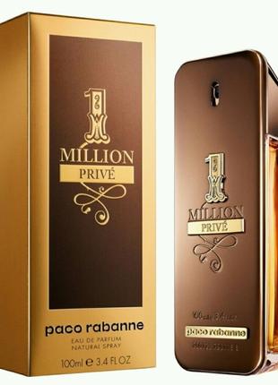 Paco Rabanne 1 Million Prive Парфюмированная вода 100 ml