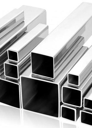 Алюминиевая труба (квадратная) 50х50х5мм АД31
