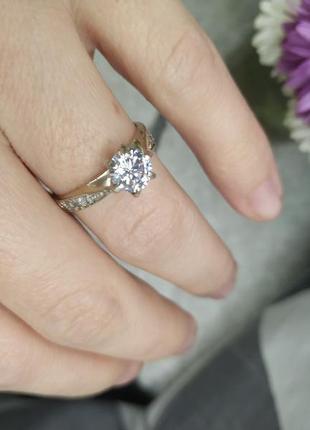 Серебряное кольцо 17,5