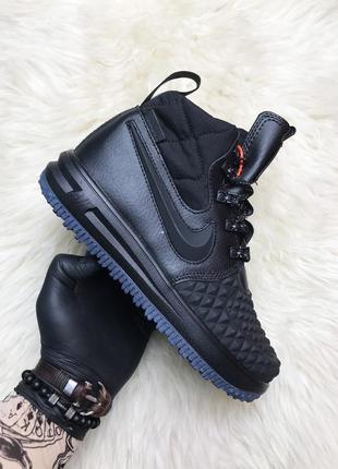 Мужские зимние черные ботинки nike lunar force 1 duckboot '17 ...