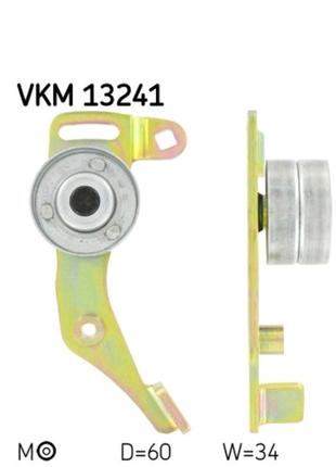 Натяжной ролик ремня ГРМ, vkm 13241,SKF