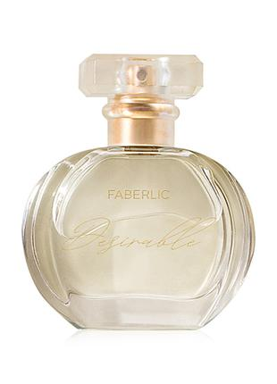 Парфюмерная вода Desirable Faberlic