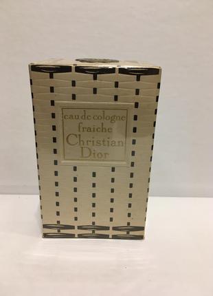 Christian dior eau fraiche 60 ml винтаж оригинал редкость