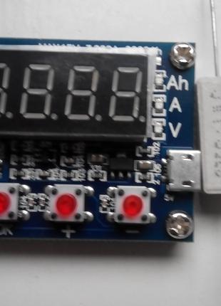 Тестер измеритель емкости  аккумулятора ZB2L3