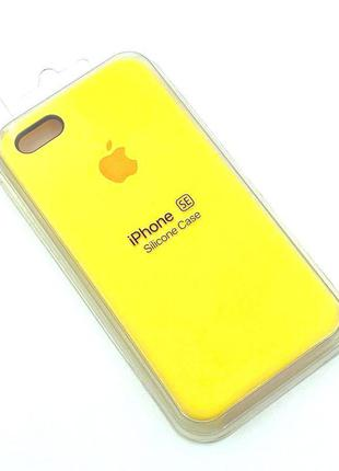 Чехол iPhone 5 / 5S/ SE Silicon Case #04 Pollen