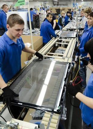 Работники на производство телевизоров LG