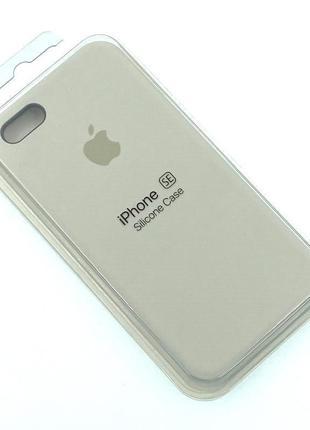 Чехол iPhone 5 / 5S/ SE Silicon Case #10 Stone