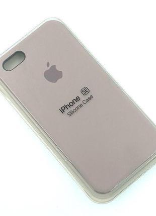 Чехол iPhone 5 / 5S/ SE Silicon Case #07 Lavender
