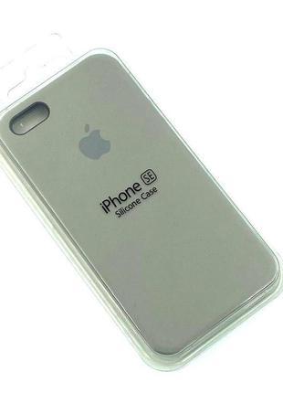 Чехол iPhone 5 / 5S/ SE Silicon Case #23 Pebble