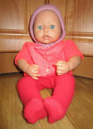 Кукла, пупс 45 см, zapf creation в одежде