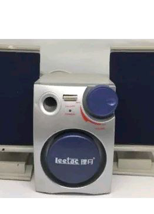 Портативная колонка для компьютера PC 2.1 USB Leetac
