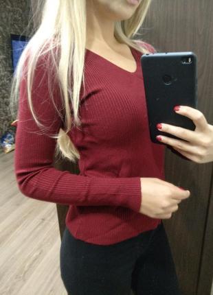 Кофта свитер пуловер цвета в ассортименте фото в живую