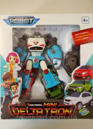 Дельтатрон Тобот 4 в 1 робот-трансформер Tobot (робот X, D, Z)