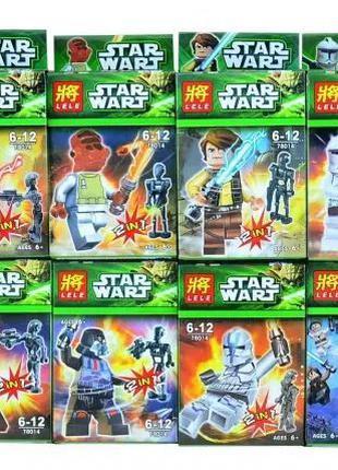 """Набор 8 в 1 Конструктор """"Звездные войны"""" Star Wars LELE 78014 ..."""