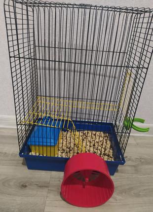 Продам срочно клетку для грызунов