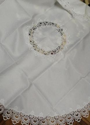 Скатерть на круглый стол *180, в наличии расцветки
