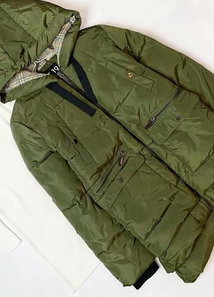 Куртка цвета хаки next