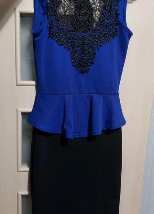 Новое женское платье Quiz 42-44 рр XS-S-M