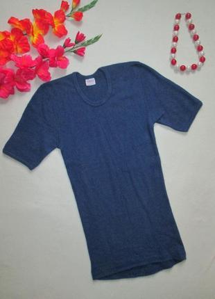 Суперовая качественная теплая мягкая термо футболка 100% ангор...