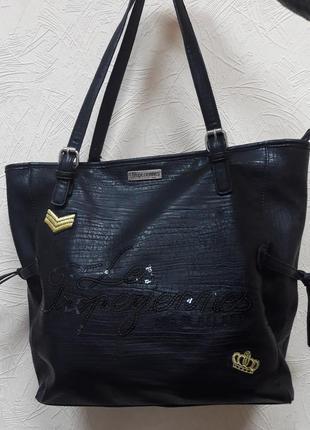 Большая женская сумка les tropeziennes.