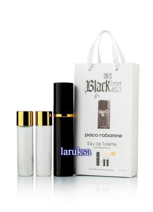 Подарочный набор мини парфюмерии paco rabanne black xs