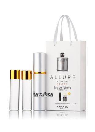 Подарочный набор мини парфюмерии allure homme sport