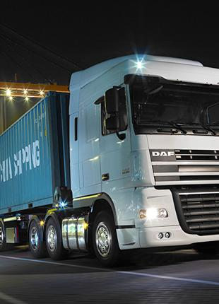 Автоперевозки контейнеров по Украине , ADR и TIR международные.