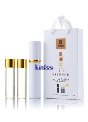 Подарочный набор мини парфюмов fendi life essence