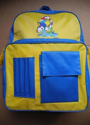 Детский школьный рюкзак disney
