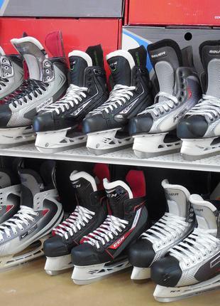 Хоккейные коньки Bauer, CCM, Reebcore