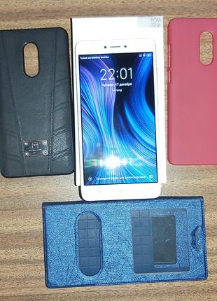 Redmi Note 4 3/32 + 5 чехлов в подарок!