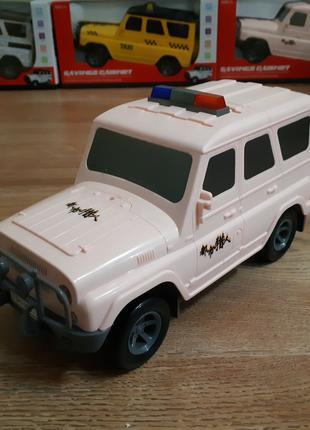 Машинка копилка сейф Полицейская с кодовым замком