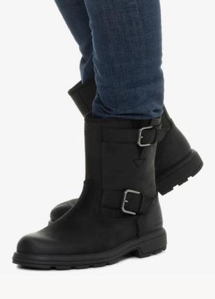 Сапоги мужские кожаные ugg biltmore moto boot угги  оригинал