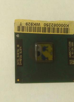 Intel Core 2 Duo mobile  T6500