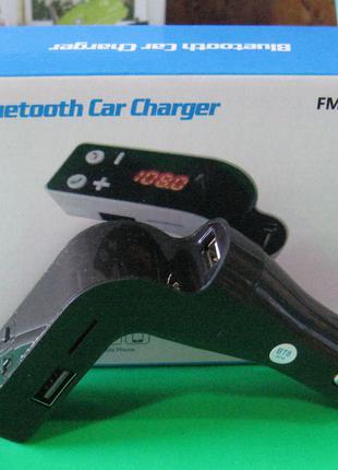 FM-модулятор S18 (Bluetooth, пульт)