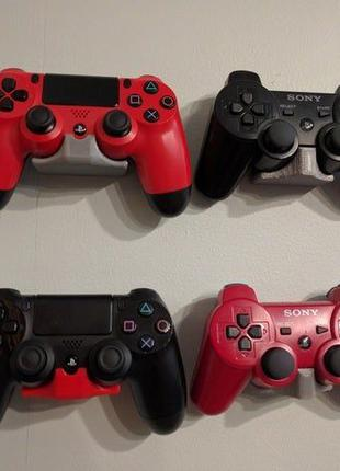 Настенное Крепление Крепеж Контроллера PS4 PlayStation 4 и его...
