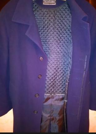 Пальто кашемировое от  Trussardi
