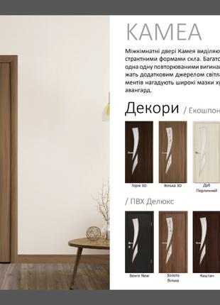 Двері Камея Новий Стиль
