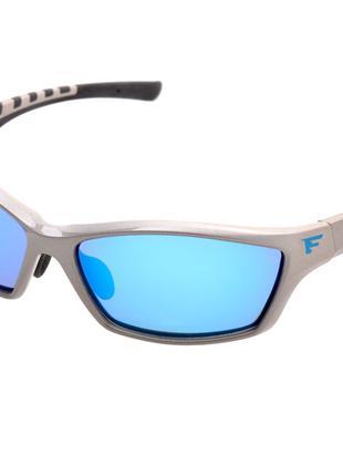 Очки поляризационные Flagman F113614 lens:blue revo + кейс