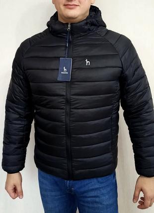 Осенне зимняя мужская куртка hazzys осіньо зимова чоловіча куртка