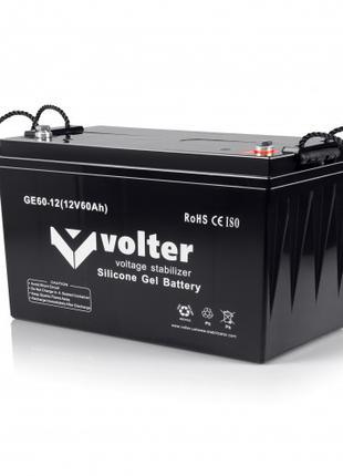Аккумуляторная батарея Volter GE 12V 60Ah гелевая