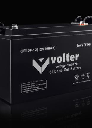 Аккумуляторная Батарея Volter GE 12V 100Ah Гелевая
