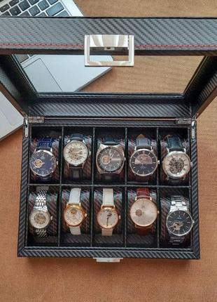 АКЦИЯ Шкатулка для хранения часов Craft подарки сувениры часы ...