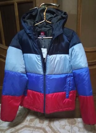 Мужская новая куртка пуховик с капюшоном