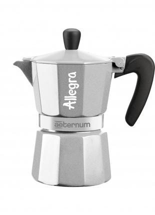Гейзерная кофеварка Bialetti Allegra Aeternum (6 чашек-170 мл)